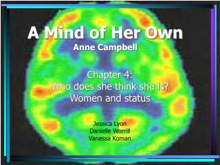 A Mind of Her Own Anne Campbell