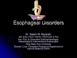 Esophageal Disorders