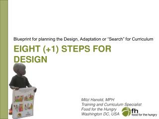 Eight (+1) steps for design