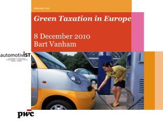 Green Taxation in Europe