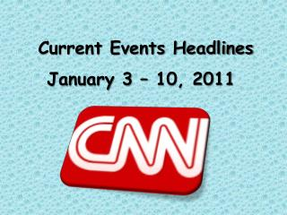 Current Events Headlines