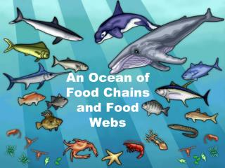 An Ocean of Food Chains and Food  Webs