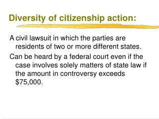 Diversity of citizenship action: