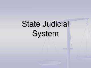 State Judicial System