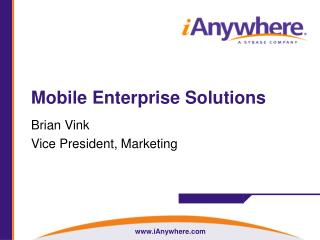 Mobile Enterprise Solutions