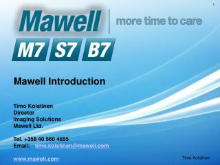 Mawell Introduction