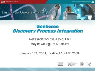 Genboree Discovery Process Integration