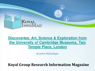 Koyal Group Research Information Magazine on Exploration and