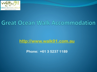 Great Ocean Guided Walks
