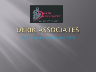 derik associates