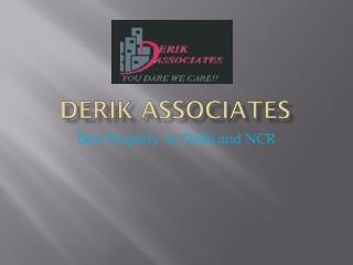 Derik Associates Real State Industry