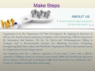 Make Steps