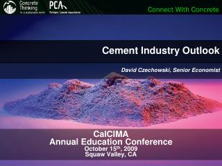 Cement Industry Outlook