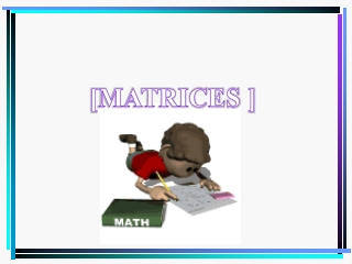 adding and subtracting matrices