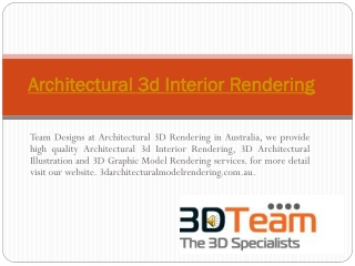 Find The Best 3D Specialist in Australia