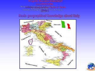 Progetto Socrates Comenius1 anno2005-2006 Istituto comprensivo Paolo di Tarso (Italy )