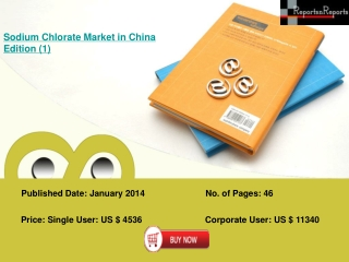 Sodium Chlorate Industry in China