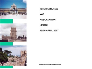 international  vat  association  lisbon  19