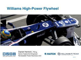 Williams High-Power Flywheel