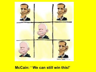 McCain: ' We can still win this!'