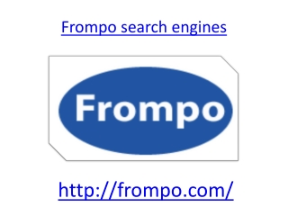 Frompo search