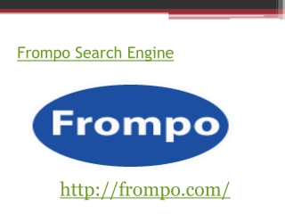Frompo Worlds Search Engine