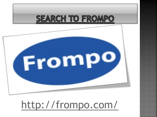 Search To Frompo