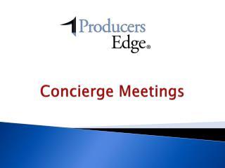 Concierge Meetings