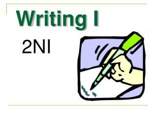 Writing I