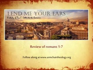 Follow along at armchairtheology