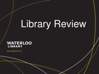 Library Review