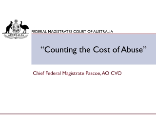 """""""Counting the Cost of Abuse"""""""