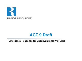 ACT 9 Draft