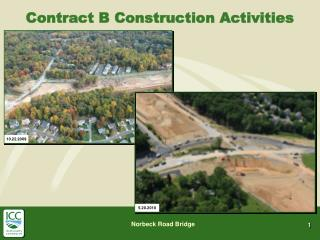 Contract B Construction Activities