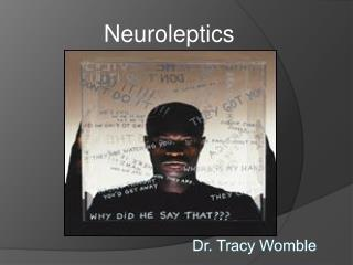 Dr. Tracy Womble