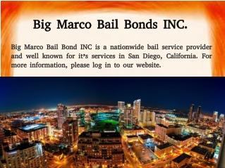 San Diego Bail Bond