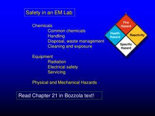 Safety in an EM Lab
