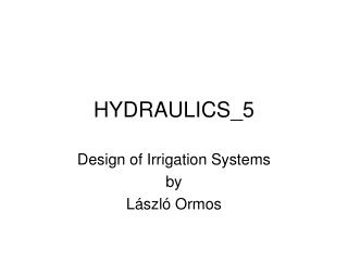 HYDRAULICS_5