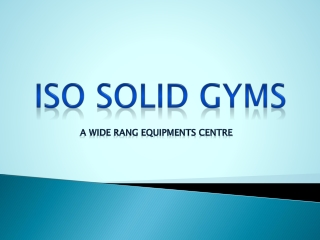 Rehabilitation Equipments in Delhi
