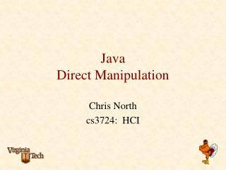 Java Direct Manipulation