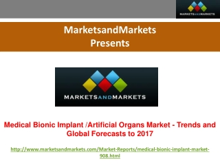 Medical Bionic Implants Market