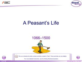 A Peasant's Life