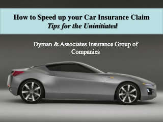 How to Speed up your Car Insurance Claim