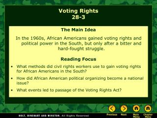 Voting Rights 28-3