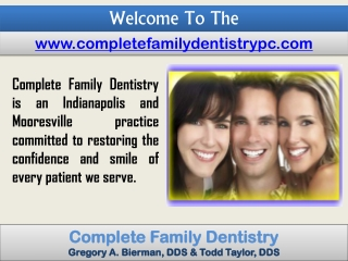 Indianapolis Emergency Dentist- Teeth Whitening Mooresville