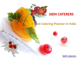 Best Catering Planner in india