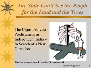 The State Can't See the People for the Land and the Trees