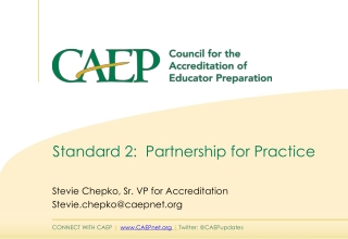 Standard 2: Partnership for Practice