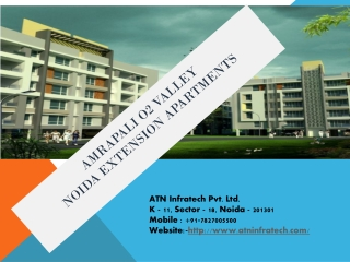 Best offers in amrapali o2 valley Noida extension call @ 901