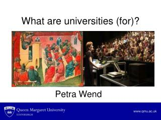 What are universities (for)?
